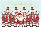 A7107-pp<br>Santa &amp; Friends